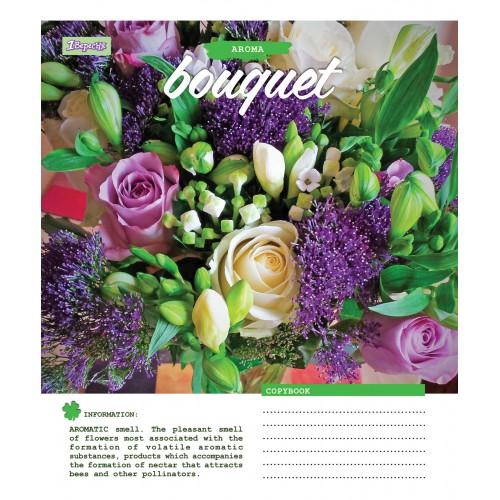 А5/24 лин. 1В Bouquet-17 тетрадь ученич. 760117