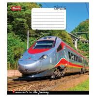 А5/48 лин. 1В Trains&Nature-17 тетрадь ученич.