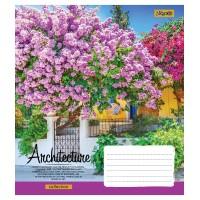 А5/36 лин. 1В Architec&Flowers-17 тетрадь ученич.