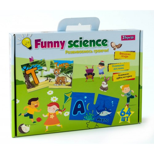 """Набор для творчества """"Funny science"""" """"Украинский алфавит"""" 953054"""