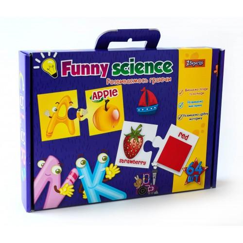 "Набор для творчества ""Funny science"" ""Английский алфавит"" 953058"