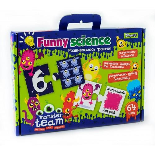 "Набор для творчества ""Funny science "" ""Monster team"" 953068"