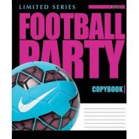 А5/48 лин. 1В Football Party -17 тетрадь ученич.