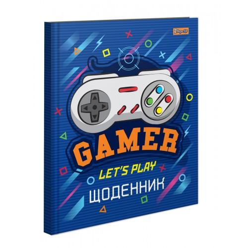 """Дневник школьный жесткий (укр.) """"Gamer"""" 911165"""