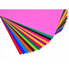 Наб.№10 цв.бумаги мелованной А3(15л), в ящ. мiх: 2 дизайна