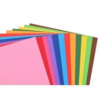 Наб.№ 58 цв.картона тонированного в массе А4(12л), в ящ. мiх: дизайна