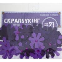 """Набор для творчества """"Скрапбукинг"""" №21, цвет лиловый"""