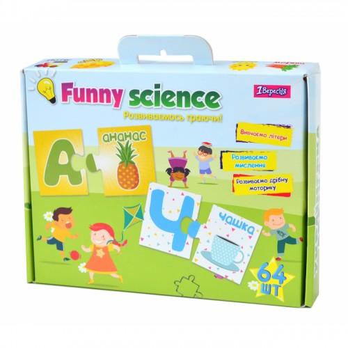 """Набор для творчества """"Funny science"""" """"Украинский алфавит 2"""" 953056"""