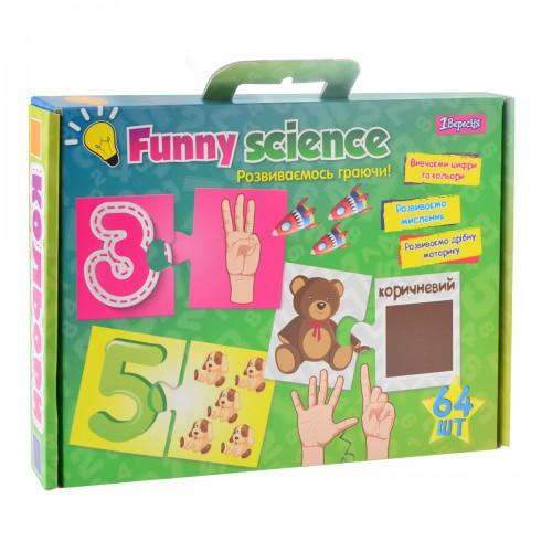"""Набор для творчества """"Funny science"""" """"Цифры и цвета"""" 953066"""