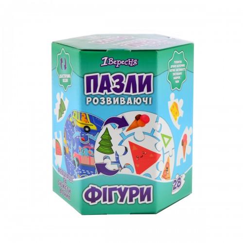 """Пазл круговой """"Геометрические фигуры"""" 953713"""