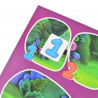"Набор для изучения счёта, с наклейками ""Useful Stickers""."