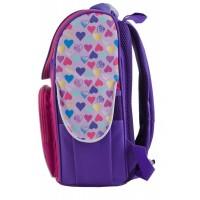 Рюкзак школьный каркасный 1 Вересня H-11 EAH purple, 34*26*14